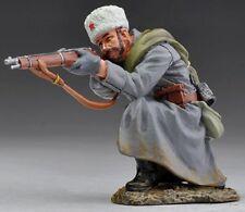 THOMAS GUNN WW2 RUSSIAN SOV007A RIFLEMAN KNEELING FIRING WEARING FUR HAT MIB