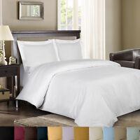 8PC Bed in a Bag Striped 600TC- Down Alternative Comforter, 100% Cotton