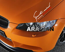 Sports mind V8 SPORT Decal Sticker car racing hood logo emblem auto performance