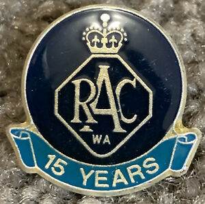 RAC (Royal Automobile Club) WA 15year Member Pin