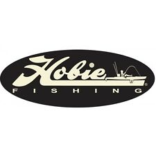 HOBIE Kayaks Decal Vinyl BLACK/TAN Fishing Boat Kayak Trailer Sticker #12453021