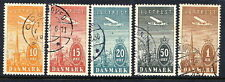 DENMARK 1934 Airmail set used