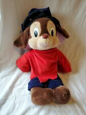 """New listing Vintage 1986 Fievel Goes West An American Tail 22"""" Plush Mouse Sears Cal Toy"""