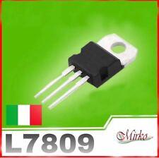 L7809 Stabilizzatore di tensione Regolatore 1,5A 9V 7809CV LM7809 ITALIA ***