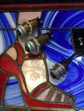 OLD DASH PANEL INSTRUMENT WARNING LAMP LIGHT FIRE TRUCK  HOT ROD SCTA RAT X3 pcs