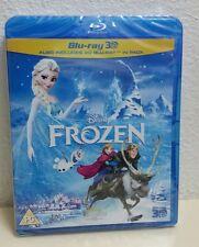 Disney Frozen Blu-Ray 3D + Blu-Ray 2-Discs Set Brand New Region FREE UK Import