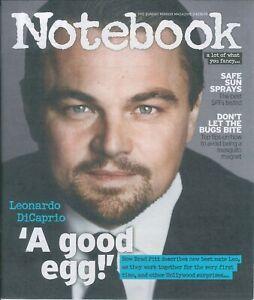 Cuaderno Revista: Leonardo Dicaprio, Mari Wilson, Dr. Amanda Marrón 4.08.19