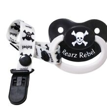Adult Baby Rebel Adult Pacifer Nuk Size 6 AB/DL Dummy soother Binky Hushy Paci