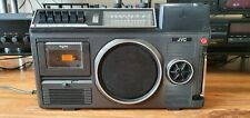 JVC 3080UKC Radio TV Cassette Recorder 3-in-1 Portable Boombox With TV Vintage