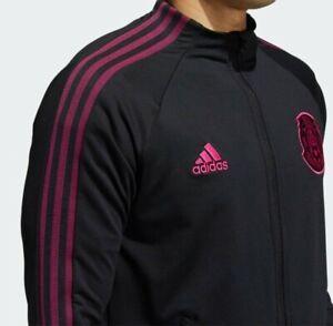 Adidas Men's Mexico Anthem Jacket  Black FH7830 size Medium