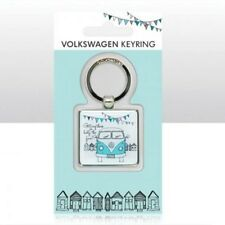 VW Campervan Epoxy Keyring 'Getting There Is Half The Fun' Officially Licensed