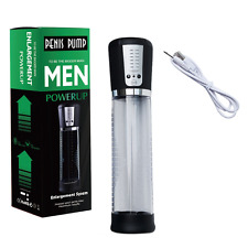 Electric Penis Pump Extender Stretcher Enhancer Enlarger Multi speed UK Seller