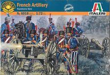 Italeri French Artillery Napoleonic Wars 1803-1815 1/72 Scale No. 6018