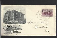 "DAVENPORT,IOWA,1894,#231  ILLUST ADVT COVER. J.H.C. PETERSEN'S SONS "" DRY GOODS"""