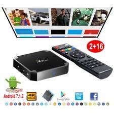 X96MINI S905W 2+16G Android 7.1.2 Nougat 4K Media Quad Core Smart TV BOX HDMI2.0