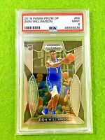 ZION WILLIAMSON PRIZM ROOKIE CARD GRADED PSA 9 MINT PELICANS 2019-20 Prizm Draft