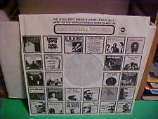 ABC/DUNHILL RECORDS PAPER INNER SLEEVE ONLY NO RECORD 12 INCH D-2