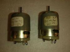 2 Johnson Electric Hc 310 Dc motor.