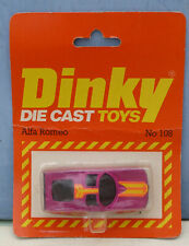 Dinky Toys (Airfix ownership) No. 108 Alfa Romeo 'Concept' Car.  Mint. Packaged