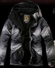 SOUTH PLAY Herren Ski Snowboard Jacke Pullover Parka Mantel Klage - HIEROGLYPHEN