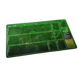 Android Netrunner LCG  Playmat -  Shaper Runner Green