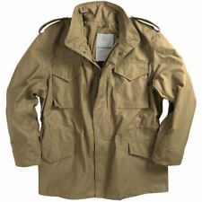 Alpha Industries Men's M65 Field Coat Army Jacket MJM24000C1 Khaki Tan Medium