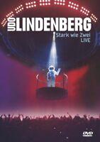 "UDO LINDENBERG ""STARK WIE ZWEI LIVE"" 2 DVD NEW+"
