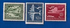 1944 Nazi Germany Third Reich LUFTHANSA airplane postage stamp set MNH