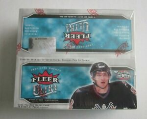 2005-06 Fleer Ultra Hockey 24ct Retail Sealed Box
