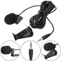 Quality 3.5mm Microphone Car Stereo GPS Bluetooth Enabled Audio DVD External Mic