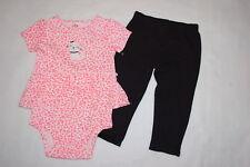 b2d82b62de0007 Baby Girls SKIRTED JUMPER T-SHIRT White Orange KITTY CAT Black Leggings  NEWBORN