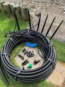 Irrigation Border Garden Sprays Comes as Complete Kit,With 25mts of Pipe
