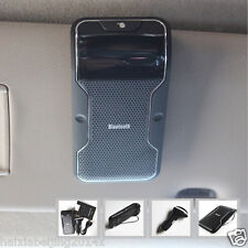 Portable Car Sun Visor Multipoint Wireless Bluetooth Hands Free Speakerphone Kit