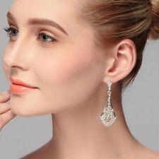 Crystal Hook Hoop Fashion Earrings