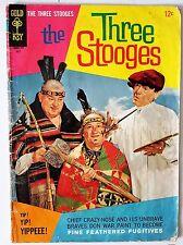 1967 Vintage 12¢ GOLD KEY Comic THREE STOOGES Fine Feathered Fugitives 10005-707