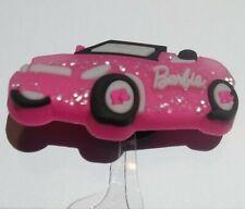 BARBIE Pink Car 1pc CHARM CRAFTS, BRACELETS, ORNAMENTS, HAIR BOW CENTERS