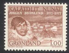 Greenland 1977 Jorgen Bronlund/Explorer/Church/Arctic/Buildings/People 1v n45445