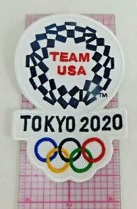 Olympic Team USA Tokyo 2020 New Team USA Embroidery Patch Made In The USA
