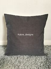 """NEW 20"""" PLAIN GREY CUSHION COVER PILLOW BED SOFA MORE COLOURS SIZES AVAILABLE"""