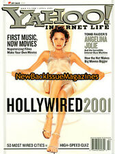 Yahoo! Internet Life 4/01,Angelina Jolie,April 2001,NEW