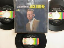 LOT OF 4  ' JACK GREENE ' HIT 45's+P(Copy)[All The Time]      THE 60's!