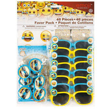 EMOJI FAVOR PACK (48pc) ~ Birthday Party Supplies iPhone Android Text Message