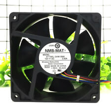 For NMB 4715KL-04W-B86 Strong wind cooling fan DC12V 2.50A 120×120×38MM 4pin PWM
