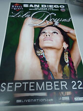 "LILA DOWNS Concert Poster San Diego House of Blues 11""x17"""