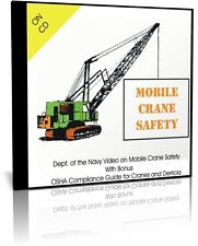 Mobile Crane Safety Video with Bonus OSHA Crane Compliance Guide on CD