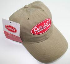 peterbilt ball cap hat truck semi trucker base cat peterbuilt visor pete apperal