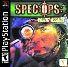 Spec Ops: Covert Assault  (Sony PlayStation 1, 2001)