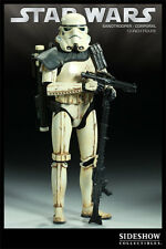 SIDESHOW STAR WARS CLONE SANDTROOPER CORPORAL RETAILER EXCLUSIVE NEW SEALED