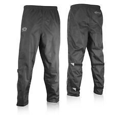 Optimum Sports Overtrousers Pants Bike Cycling 100% Showerproof - Black