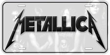 Metallica Aluminum Novelty Car Auto License Plate